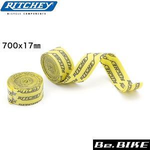 RITCHEY(リッチー) スナップオンリムテープ 700C イエロー 自転車 リムテープ|bebike