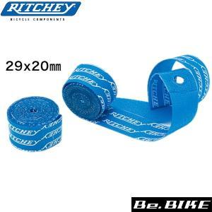 RITCHEY(リッチー) スナップオンリムテープ 29 ブルー 自転車 リムテープ|bebike