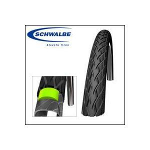 シュワルベ タイヤ MARATHON(マラソン) 28×1.40、700×35C リフレクター付き 国内正規品|bebike