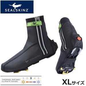 sealskinz LIGHTWEIGHT HALO OVERSHOE 1411404 XL シューズカバー bebike