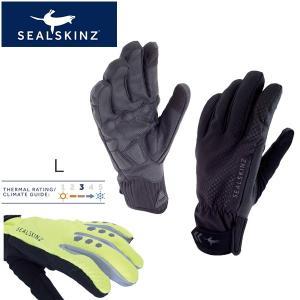 sealskinz All Weather Cycle XP Glove 1211508 L ブラック/ブラック グローブ bebike