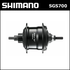 シマノ(shimano) SG-S700 内装11S ブラック 32H 軸長:187mm OLD:135mm (ISGS700BL) bebike