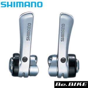 シマノ SL-R400 左右レバーセット 2/3x8Sダウンチューブシフター  付属/シフトインナー 自転車 SHIMANO シフトレバー bebike