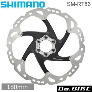 シマノ(SHIMANO) SM-RT86 180mm 6本ボルト ナロータイプ 固定方法:6本ボルト サイズ:180MM アイステック:アイステック (ISMRT86M2)  自転車 ディスクローター|bebike