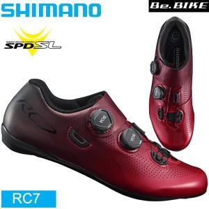 シマノ RC7 レッド  SPD-SL シューズ ビンディングシューズ ロードコンペティション SHIMANO 自転車  |bebike
