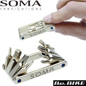 SOMA ロープロ8ポケットツール ツール 自転車 bebike