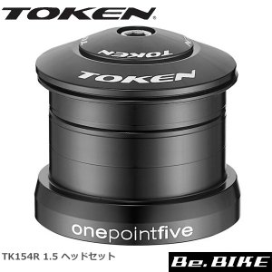 TOKEN TK154R 1.5 ヘッドセット 1.5+1-1/8テーパーフォーク 自転車 ヘッドパーツ(MTB)|bebike