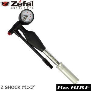 ZEFAL(ゼファール) 0660 Z SHOCK ポンプ 自転車 空気入れ 携帯ポンプ|bebike