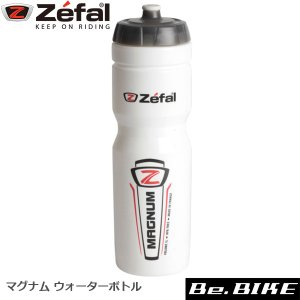 ZEFAL(ゼファール) 164 マグナム ウォーターボトル ホワイト 自転車 ボトル|bebike