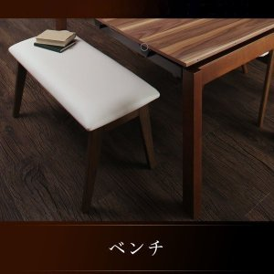 ダイニングベンチ 2人掛け PVCレザー|bed-lukit