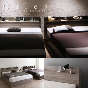 ニュアンスカラー採用!個性的な収納ベッド【Giles】 ジャイルズの写真