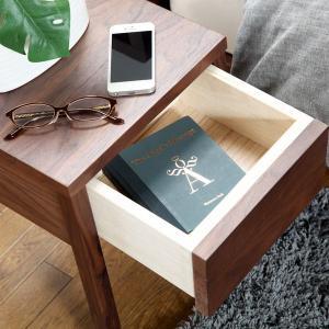 ナイトテーブル ベッドサイドテーブル アマンド...の詳細画像1