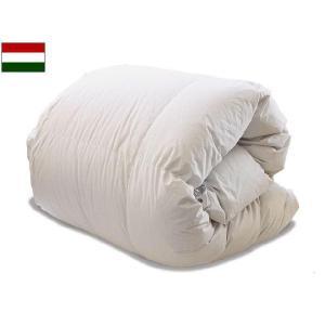 羽毛布団ペアタイプ(シングル150×210cm) ハンガリアンダウン|bed
