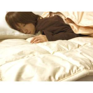 ベッドパッド キャメル敷きパッド(ダブル)  bed