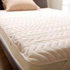 らくらくお洗濯♪ウォッシャブルベッドパッド(ワイドダブルサイズ)【洗濯用ネット付き】 bed