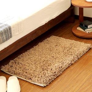 数量限定マイクロシャギー ウォッシャブルラグ (50×80cm)|bed