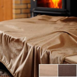 発熱毛布エコでウォーム毛布ダブル 180×200cm |bed
