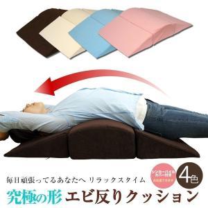 背中ストレッチクッション 寝返り防止クッション 体位変換 ウレタン 三角 アーチ エビ反りクッション 腰枕 ベッドアンドマットレス