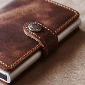 SECRID セクリッド ミニウォレット ヴィンテージ MINI WALLET 財布 カードケース ...