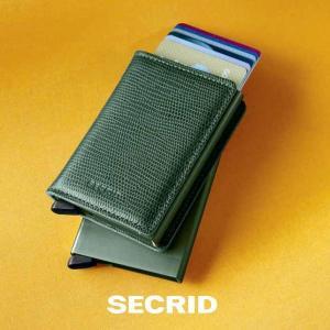 SECRID セクリッド スリムウォレット ランゴ SLIM WALLET Rango  メンズ財布...