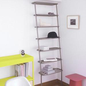 ●DUENDE棚ラック シャビー  壁に立て掛けるだけのありそうでなかった斬新なスタイルの収納棚 コ...