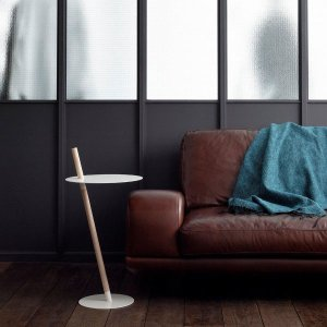 デザイナーズ家具 DUENDE チューブ&ロッド サイドテーブル(ホワイト)