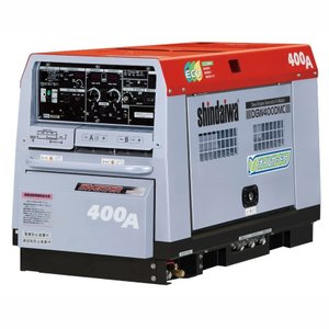 【送料無料】新ダイワ ディーゼルエンジン溶接機 DGW400DMC−I 【大特価】|bedream
