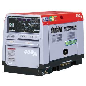 【送料無料】新ダイワ ディーゼルエンジン溶接機 DGW400DMC−RC|bedream