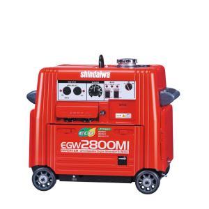 【送料無料】 新ダイワ ガソリンエンジン溶接機 EGW2800MI 【大特価】|bedream