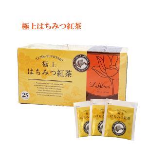 はちみつ紅茶 極上はちみつ入り紅茶 ティーバック 25個入 ラクシュミー 神戸
