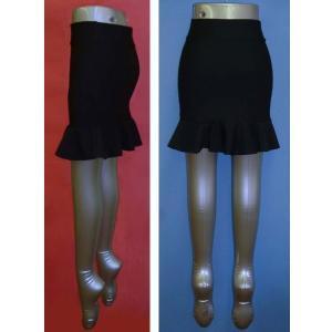 トリコット マーメイド ミニスカート w242409【SS】3号〜5号小さいサイズ・レディース|bee-fit