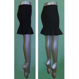 トリコット マーメイド ミニスカート w242409【SS】3号〜5号小さいサイズ・レディース|bee-fit|02