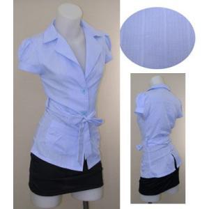 パフ袖シャツジャケットw271853【S】3号〜5号 小さいサイズ・レディース|bee-fit