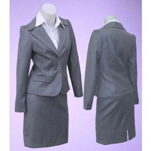 二つボタンパフ袖スーツw271893【XS】5号 小さいサイズ・レディース|bee-fit