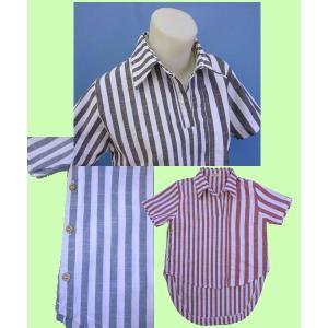 半袖 プルオーバー シャツ w272402 【S】5号〜7号 小さいサイズ・レディース|bee-fit