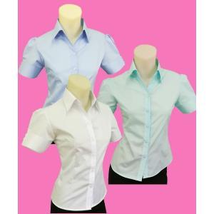 半袖パフシャツw272459【S】5号 小さいサイズ・レディース|bee-fit