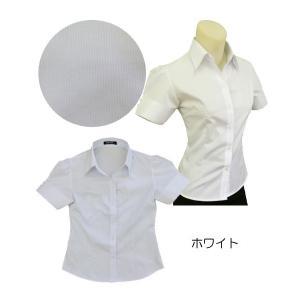 半袖パフシャツw272459【S】5号 小さいサイズ・レディース|bee-fit|02