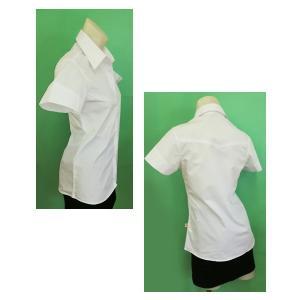 半袖開襟シャツw272460【S】5号 小さいサイズ・レディース|bee-fit|03