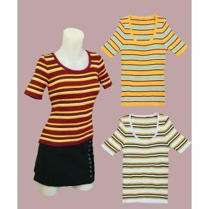 小さいサイズの 半袖U首カットソー w272490 Sサイズ 3号〜5号|bee-fit