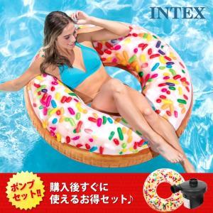 INTEX インテックス 浮き輪 ドーナツ スプリンクル フ...