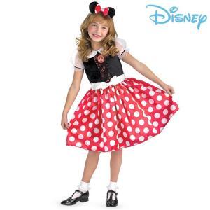 ディズニー ミニーマウス コスチューム 子供 衣装<br> 女の子に大人気!ミニーの仮装...