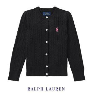 ラルフローレン ニット セーター ケーブル編み キッズ 子供 女の子 長袖 アウター トップス|bee8