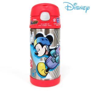 ディズニー 水筒 ミッキーマウス サーモス 子供用 ダイレクトストローボトル THERMOS 355|bee8