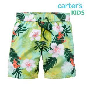 カーターズ 水着 男の子 パンツ キッズ 子供 子供服 子供用水着 スイミング トランクス サーフパンツ ハーフ|bee8
