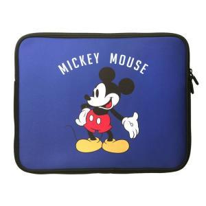人気のディズニーキャラクター、ミッキーマウスがデザインされたかわいくて、やわらかい軽量薄型のPC・タ...