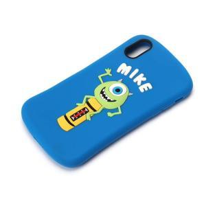 ディズニーキャラクター、モンスターズインクのマイクのデザインのiPhone XR用シリコンケースです...