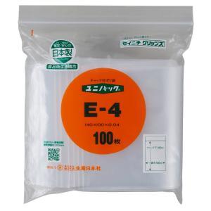ユニパック E-4(1ケース/8000枚)/送料無料 生産日本社 セイニチ|beeluck2014
