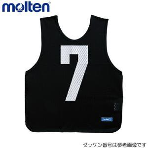 molten/モルテン ★ジュニア 7番 1枚★ GB0012-BK07 ビブス ゲームベスト 黒 ...