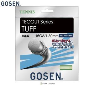GOSEN/ゴーセン TS620 テニス ガット(国内) テックガット タフ 16/TECGUT T...