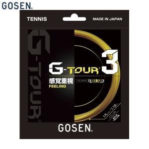 GOSEN/ゴーセン TSGT32 テニス ガット(国内) G−TOUR3/ジー ツアー スリー ソ...